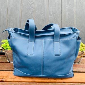 Coach VTG. Multifunctional Diaper Bag Blue Large